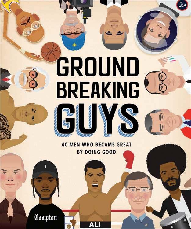 Groundbreaking Guys: 40 Men Who Became Great by Doing Good By Shamel Washington Ages: 8 12 Page Count: 80 On-Sale: May 28, 2019 Shamel Washington is an art director, designer, illustrator, and