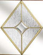 diamond-shaped glazing panel that makes your home