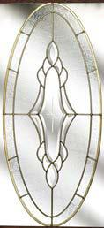 The unusual oval glazing panel gives your