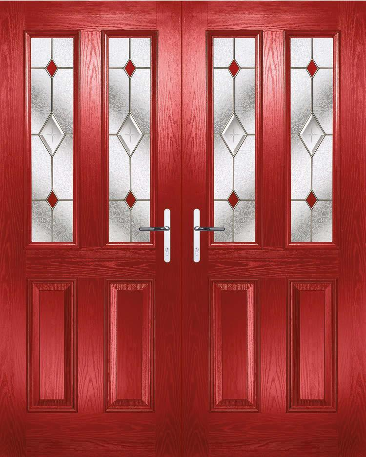 FRENH DOORS By choosing a French door