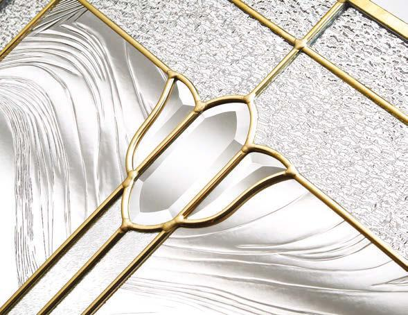 GLAZING OPTIONS Your choice of decorative glazing panel is the perfect