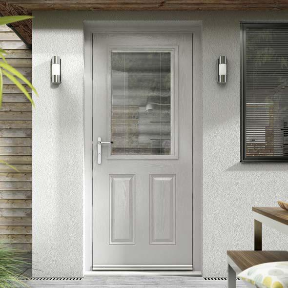 WHY HOOSE A SIDEY SOLARTHERM GRP OMPOSITE DOOR?