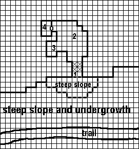 DM S AID 3: MAP OF THE BANDIT S CAVE LEGEND Scale: 1 square = 5 ft.