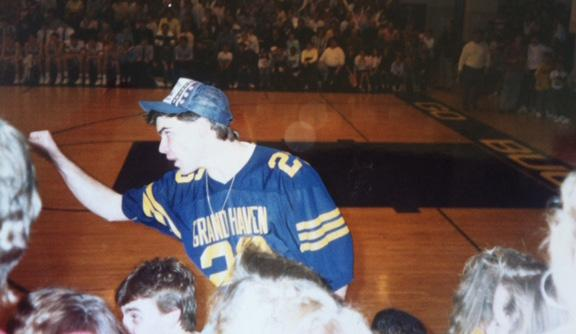 THE SHILLING FILE HIGH SCHOOL: Grand Haven High School class of 1989. Sports Editor: The Bucs Blade, 1988-89. Cornerback, varsity football team.