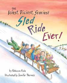 picture books The Iciest, Diciest, Scariest Sled Ride Ever!
