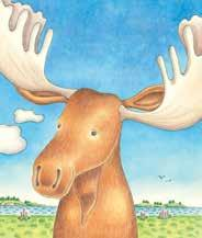 picture books no moose Calmenson Thermes There are no moose on this island!