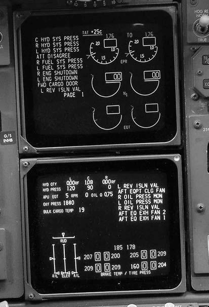 10 AIRCRAFT DIGITAL ELECTRONIC AND COMPUTER SYSTEMS 3. Where is the display usually found? 4. What fan speed is indicated? 5. What temperature is indicated?