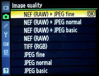 NEF - Raw image files