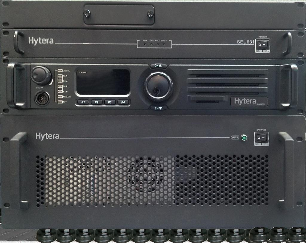 Architecture Hytera DMR simulcast system consists of MSO (Mobile Switching