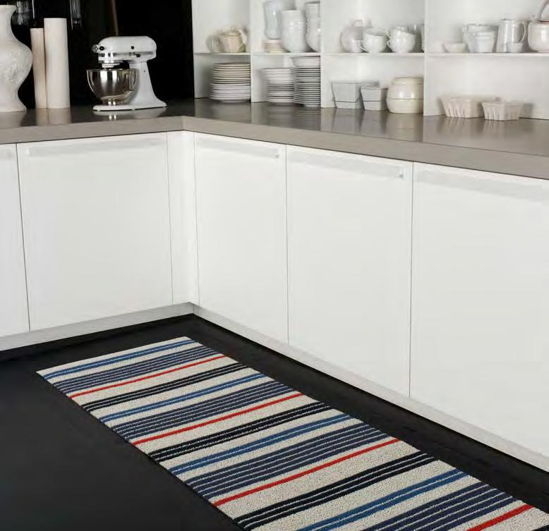 "NEW STYLE Mixed Stripe DOORMAT UTILITY MAT BIG MAT 18"" x 28"" 46 x 71cm 24"" x 36"" 61 x 91cm 36"" x 60"" 91 x 152cm 24"" x 72"" 61 x 183cm COLOR NO."