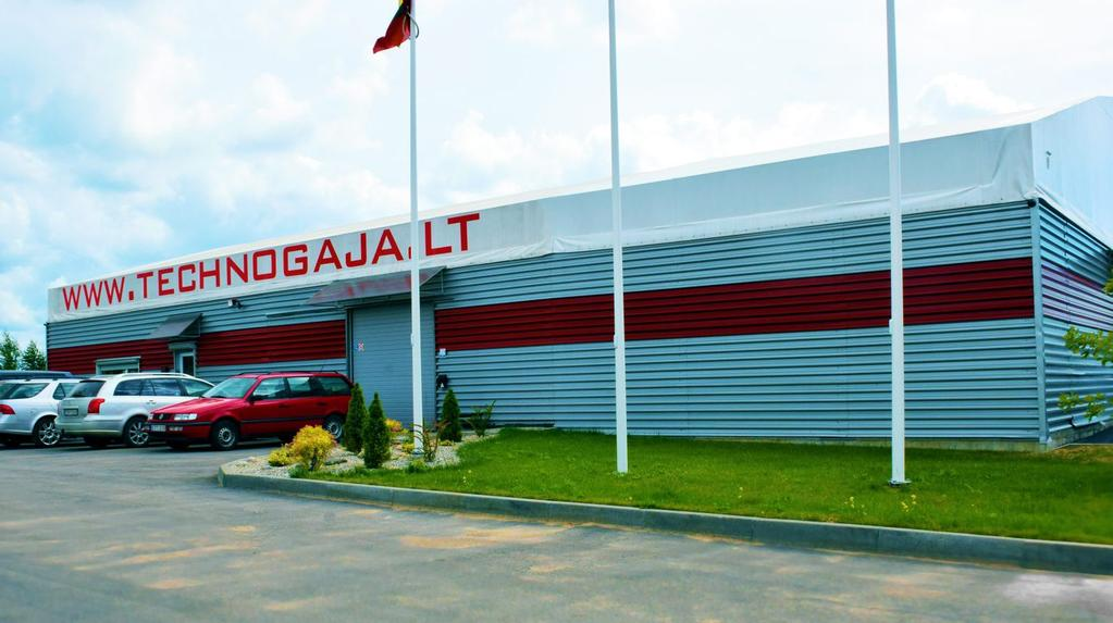 History The company UAB Technogaja has started working in the air ltration industry from 2008, from then until now - we have became the leader in the development and production of air lters and