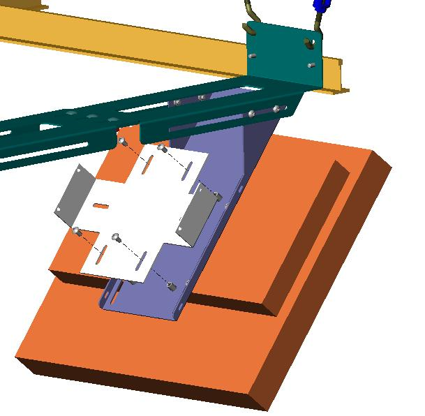 The structure must be reinforced before you install the Kit if the structure cannot support a redundant weight factor five times the total weight of the equipment.