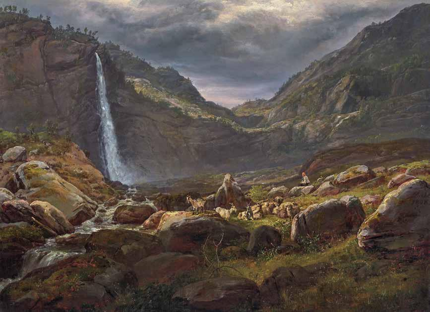 9 Johan Christian Dahl View of the