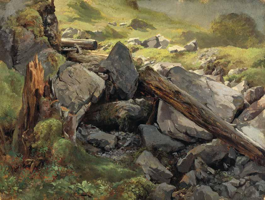 11 Alexandre Calame Tree Stump