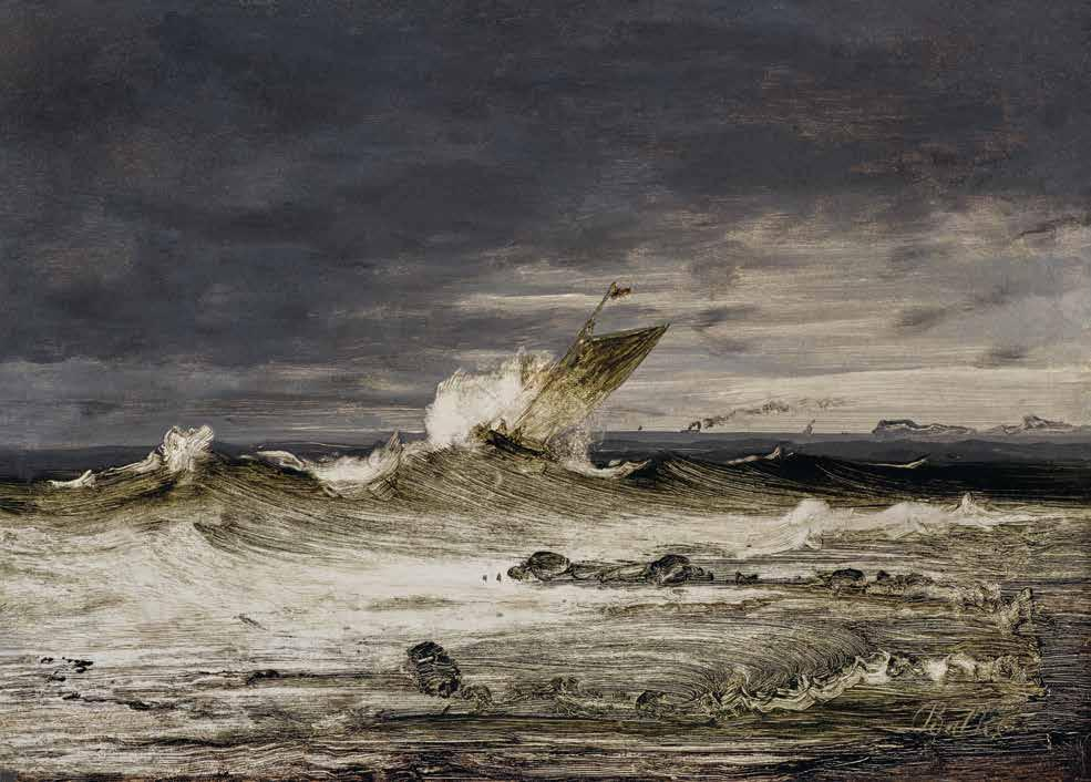 1 Peder Balke Stormy Sea with