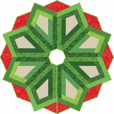 Christmas Magic Tree Skirt in Jubilee Christmas Magic Tree Skirt Item #: AMD 082 UPC: 719318356456 Retail: $12.