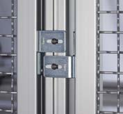 light For building gap-free protective enclosures Clamp Profiles For building particularly stable frame