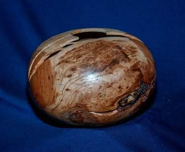 11 Cherry Burl hollow form turned by Colin Kenoe Show