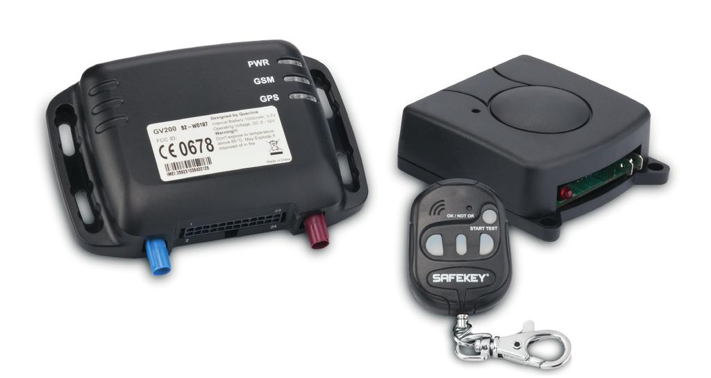 SafeKey Check Module SafeKey is a Sophisticated Electronic System that rapidly and accurately checks a driver s reaction time.