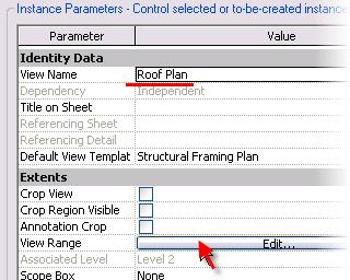 Create a View Template 44 Right-click in the view. Click View Properties.