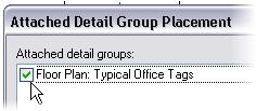 Add Annotation Detail Groups 20 Press CTRL and click model groups