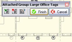 25 With the large office tags attached detail group selected, on the Options Bar, click Edit Group. Right-click one of the window tags.