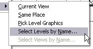 On the Edit menu, click Paste Aligned > Select Levels by Name. Click Level 2. Click OK.