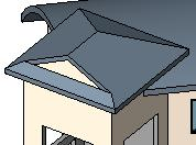 Create Multiple Roofs Sometimes you need to create two or more roofs to complete the shape you are looking for.