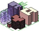 the SketchUp models you will use in the exercise.