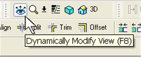 22 Open a 3D view by clicking the 3D view icon on the toolbar.
