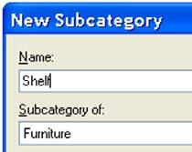 Create Subcategories of the Furniture Category This exercise builds on work performed in previous exercises.