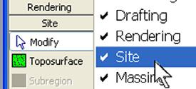 Open the Site views, and tile the views using the WT keyboard shortcut. Note on Linked File Paths: The Revit Architecture model is a linked file, m_unit12 building.rvt.