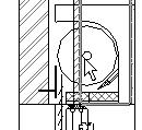 8 Place the window detail component as shown in image. Use the Align tool to align it to the sill.