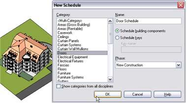 Unit 18 Theory: Schedules, Tables, and Legends Revit Architecture: Tags, Schedules and Legends Schedules are just another view of the building model, but instead of representing the data in a