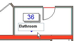 Note that Revit Architecture also allows modification of the names of the rooms from within the schedule table itself.