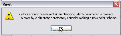 Click OK in the warning dialog