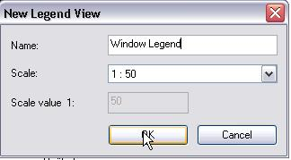 Exercise 18F: Legends In this exercise you create a window legend. A legend is a chart of symbols in the project.