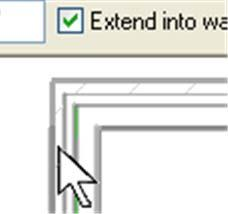 To do this you need to watch where the cursor is pointing as you are picking in the drawing area.