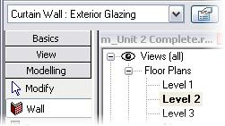 While a curtain wall in architectural terms is a specific term that applies to a glazing system, in Revit Architecture the Curtain Wall object