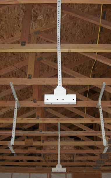 ceiling joists.