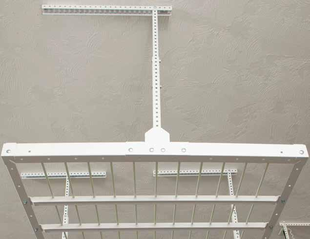 COMPONENTS Ceiling Mount (x4) - 1 ¼ x 26 channel, 5/16