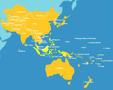 Regional Science Bureau for Asia and the Pacific As a Regional Bureau for Science, it covers Asia and the Pacific Region (46 countries plus 2