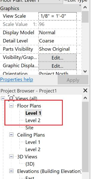 19 6. Electrical Plan When creating an electrical plan in Revit, you should make copies of the Floor Plans for which