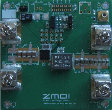1 Introduction 1.1. ZSPM8060-KIT Open-Loop Evaluation Board Overview The ZSPM8060-KIT single-phase open-loop evaluation board is a design platform providing the minimum circuitry needed to