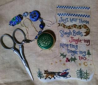 THE ATTIC PAGE 11 Needleworkers Share Cindy s beautiful Hannah Carter showing you