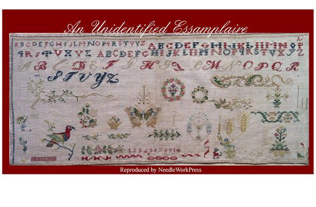 Everyone loves a mystery The Attic's 2014 Stitch-Along, a reproduction from NeedleWorkPress, blends true elegance and sophistication with its charming and naive unfinished state.