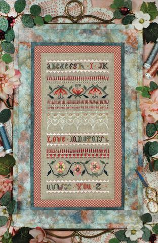 THE ATTIC PAGE 9 From The Victoria Sampler I Love You Sampler $18 chart; $54