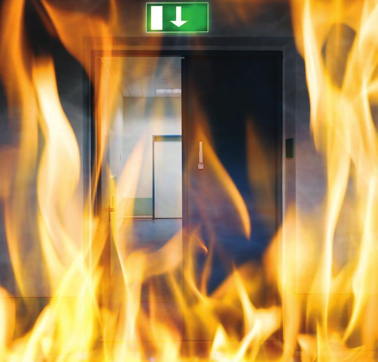 TECHNICAL Does simply adding intumescent seal to a door make it into a fire door? Definitely not! A fire door must be a fully tested door construction with all the appropriate fire test evidence.