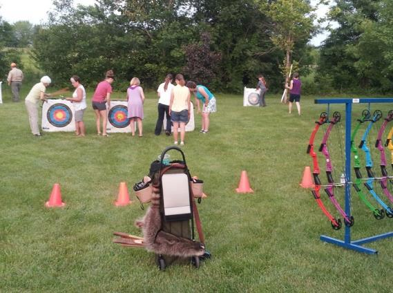 of Conservation s Outreach & Education Division. Brian provided a FREE archery lesson to interested attendees!