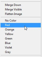 When a layer is selected it means that any edits or selections will affect that layer and not the other parts of the image. You can click on a layer to select it.